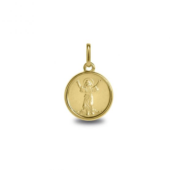Medalla de oro 14k Divino Niño Jesús (1260479)