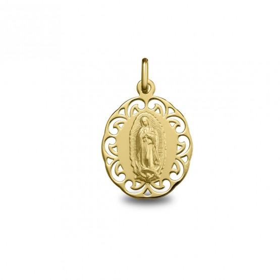 Medalla de oro Virgen de Guadalupe (1878255)