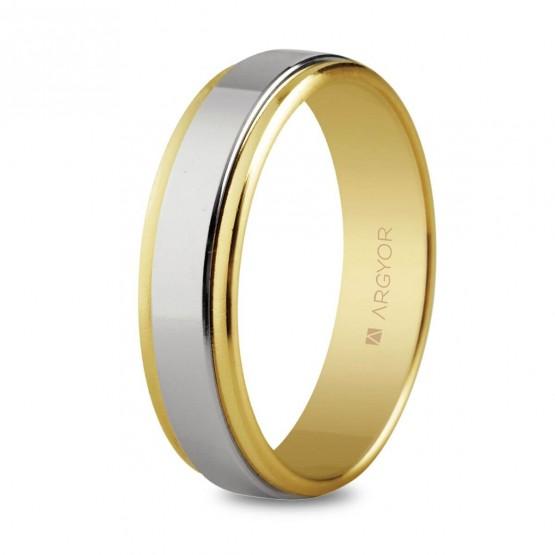 Anillo de bodas de oro bicolor (5250158)