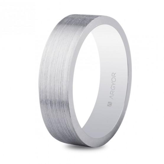 Anillo de bodas plano de plata 5.50 mm (5755056N)