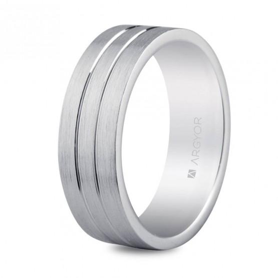 Anillo de bodas de plata 6mm confort (5765052N)
