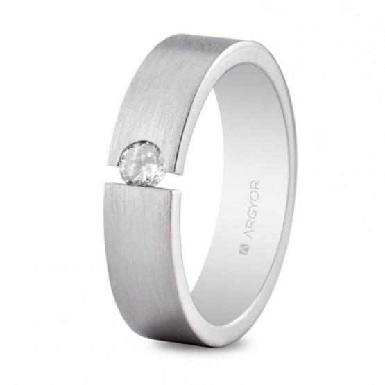 Argolla matrimonial de plata 5.5mm confort (5755156N)