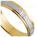 Argolla matrimonial de oro labrado (5240311)