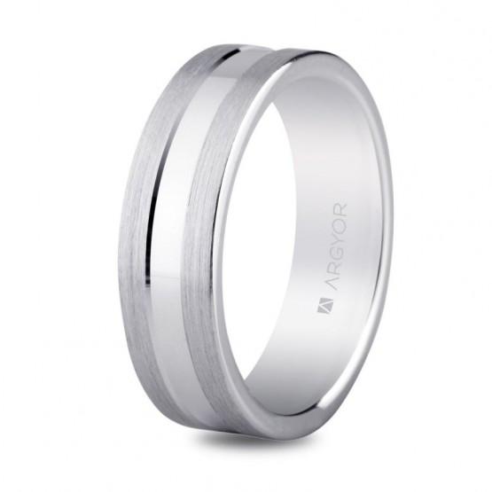 Argolla matrimonial en plata 6mm confort (5760031)