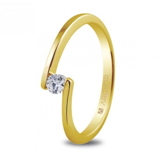 Anillo de compromiso con diamante (74A0013)