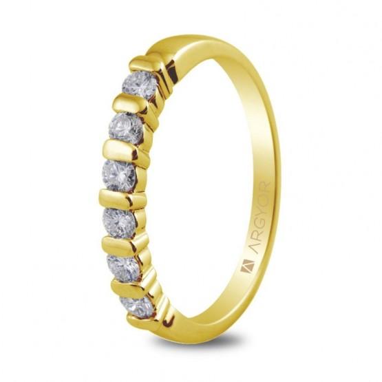 Anillo de compromiso de oro 14k (74A0021)