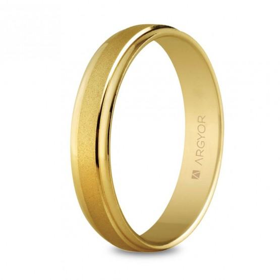 Argolla matrimonial de oro 4mm (5140044)