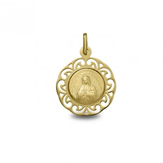 Medalla de oro Virgen de Guadalupe (1877242)