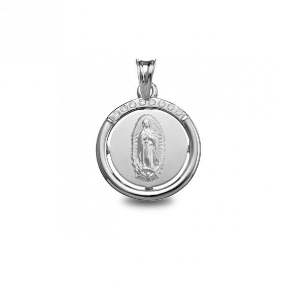 Medalla de plata Virgen de Guadalupe (1801255)