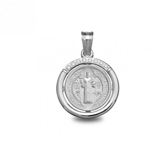 Medalla de plata San Benito (1801605)
