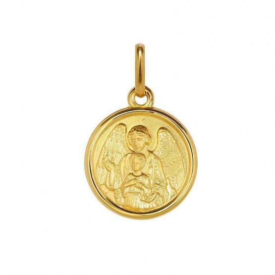 Medalla de plata chapeada en oro Ángel de la Guarda (1260475D)