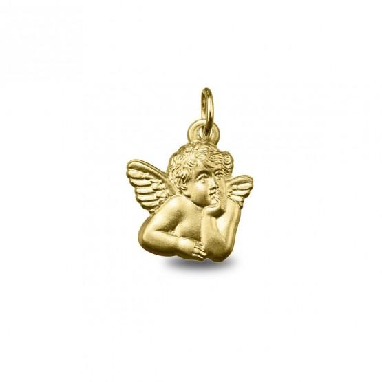 Medalla de oro forma Angelito pensativo (1381454)