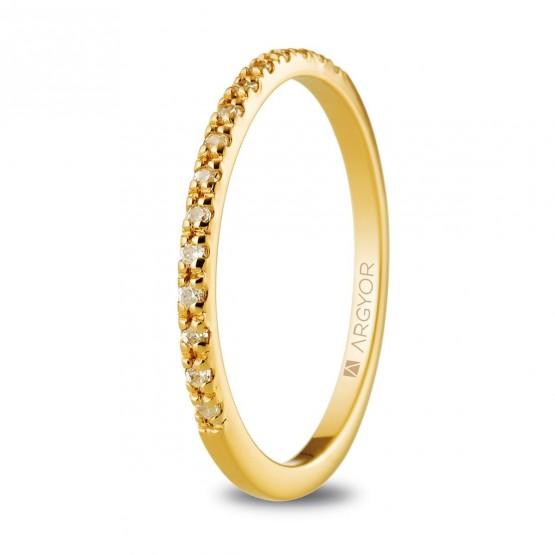 Churumbela de oro y diamantes (074A0070)