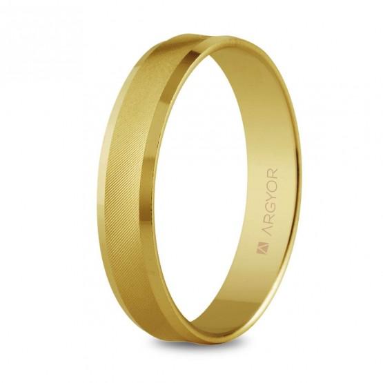 Anillo de boda plano de oro (5140308)