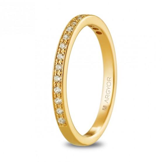 Churumbela de oro y diamantes (074A0077)