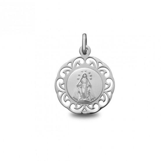 Medalla de plata Virgen Milagrosa (1877246)
