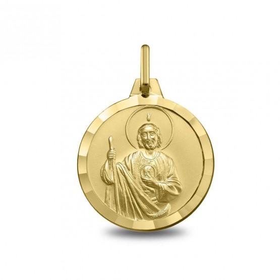 9de57ee208f3 Medalla en oro 14k San Judas Tadeo 1000341