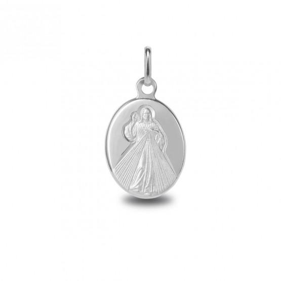 Medalla de plata Cristo de la Divina Misericordia (1038477)