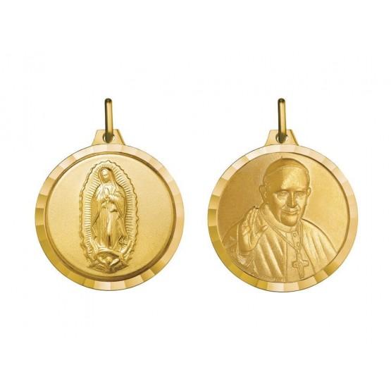 Medalla V. Guadalupe y Papa Francisco (1000611)