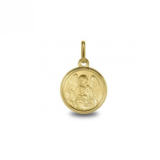 Medalla en oro con la imagen del Ángel de la Guarda (1260475)