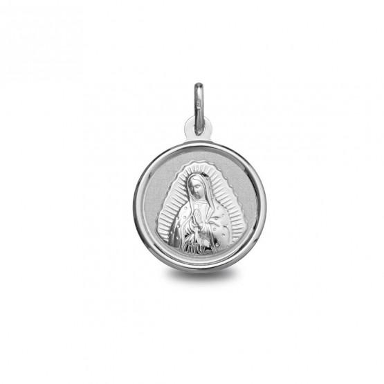 Medalla plata Virgen de Guadalupe (1900242)