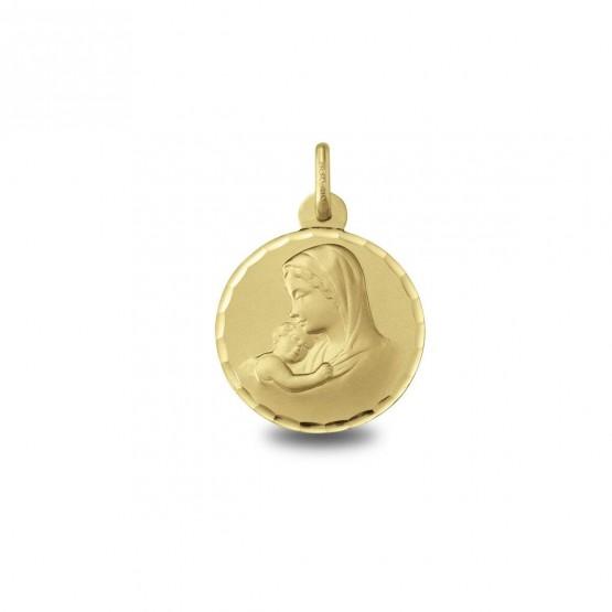 Medalla Virgen con el niño Jesús (1604235N)