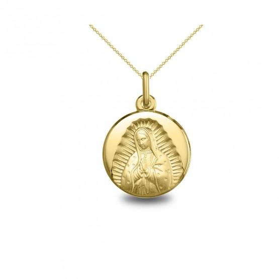 Medalla oro busto Virgen de Guadalupe (1030242)