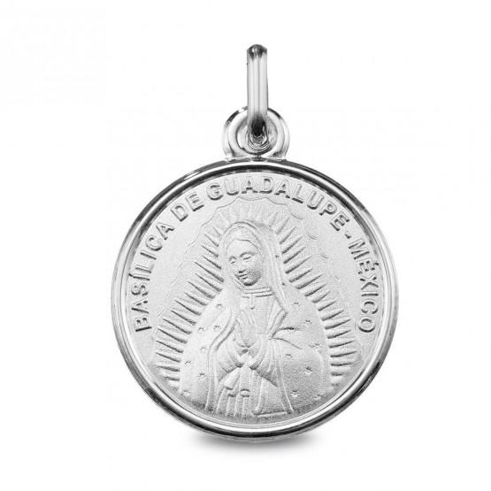 Medalla de plata imagen de la Virgen de Guadalupe (1260490)