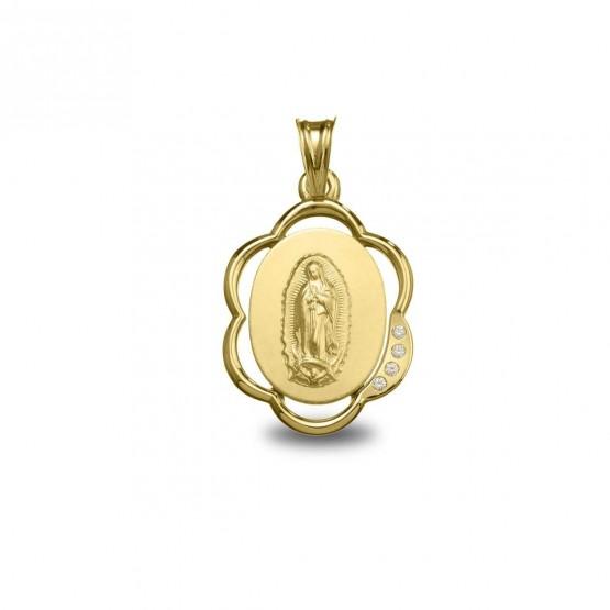 Medalla de oro Virgen de Guadalupe (1802255)