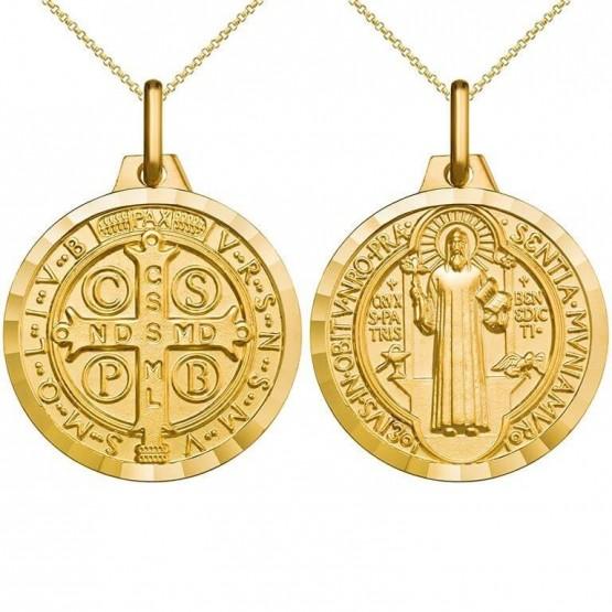 Medalla de oro San Benito (1000605)