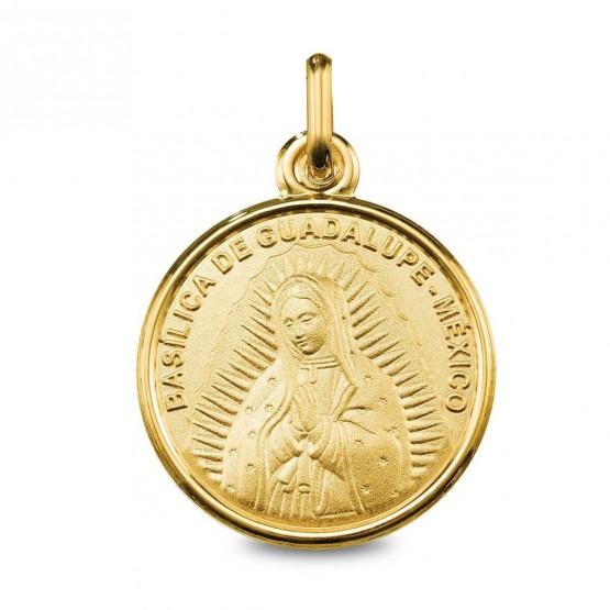 Medalla en oro imagen Virgen de Guadalupe (1260490)