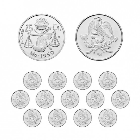 Arras matrimoniales plata con balanza y Águila (8119)