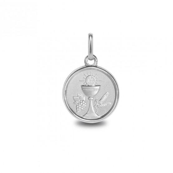 Medalla de plata Cáliz Primera Comunión (1260469)