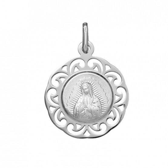 Medalla de plata Virgen de Guadalupe (1877242)