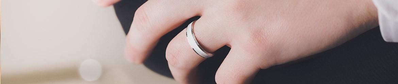 Anillos de matrimonio oro blanco desde 1954 | Argyor MX