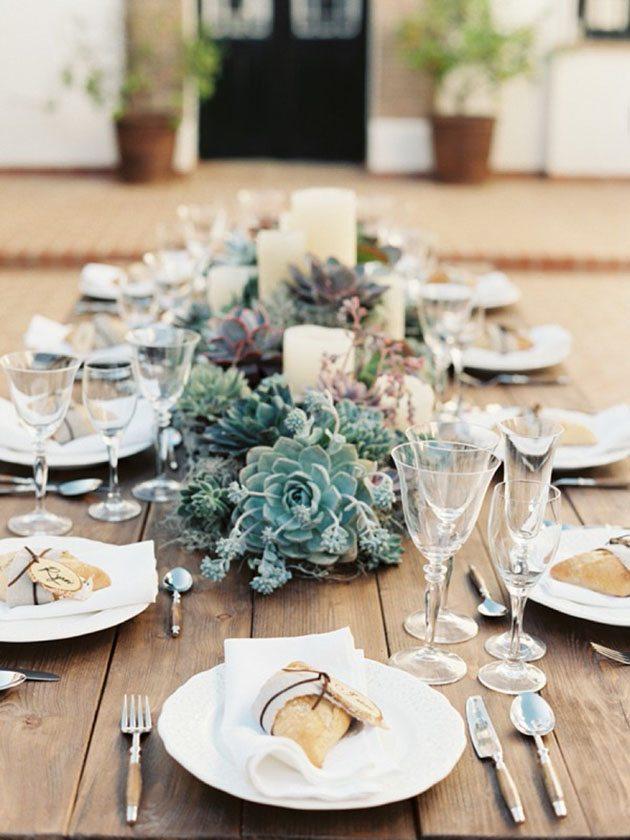 1 - Una boda con suculentas
