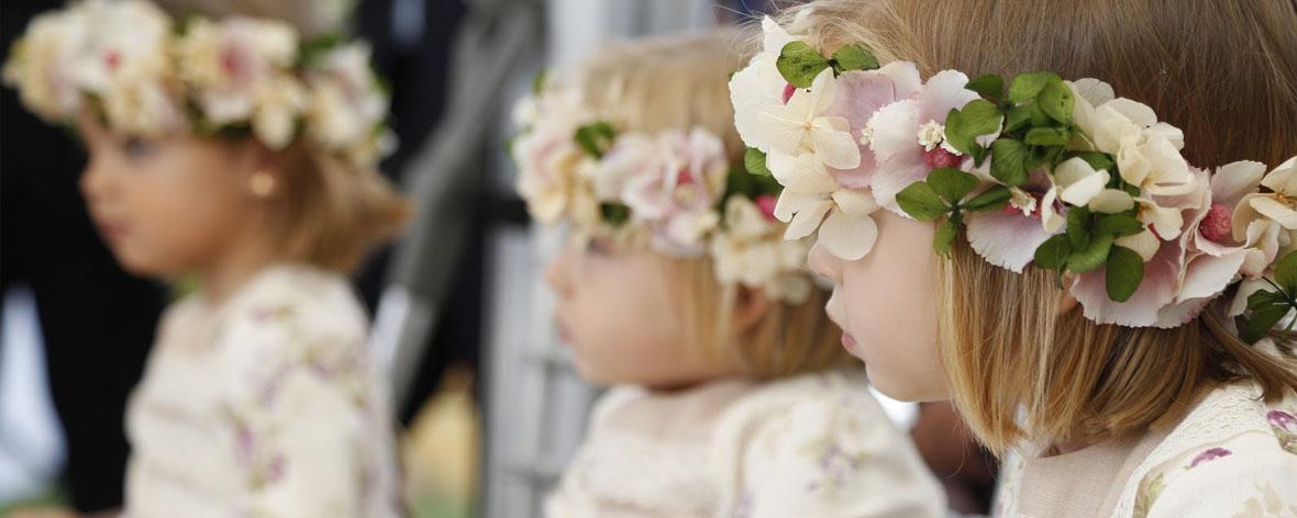 niños en tu boda