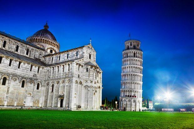 Luna de miel en la Toscana: Pisa