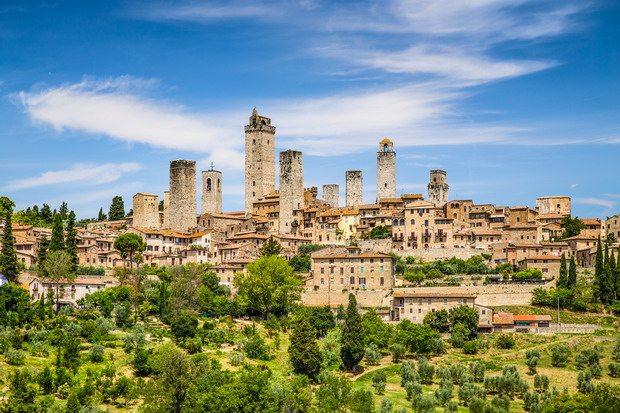 Luna de miel en la Toscana: Chianti