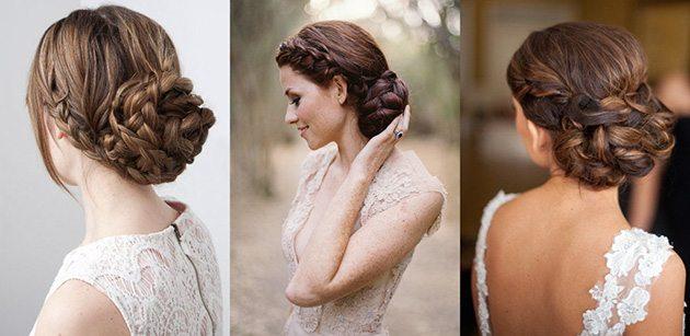 Peinados de novia de acuerdo al vestido